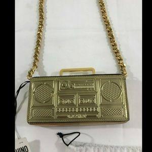 SS15 Moschino Jeremy Scott Mini Boombox Bag